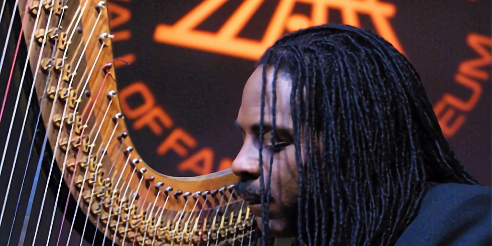 Jeff Majors - Inspirational Jazz Harpist @ O Museum in The Mansion