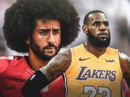 Kaep, LeBron, and the Rest of Them Can Open Their Wallets Or Shut Their Mouths