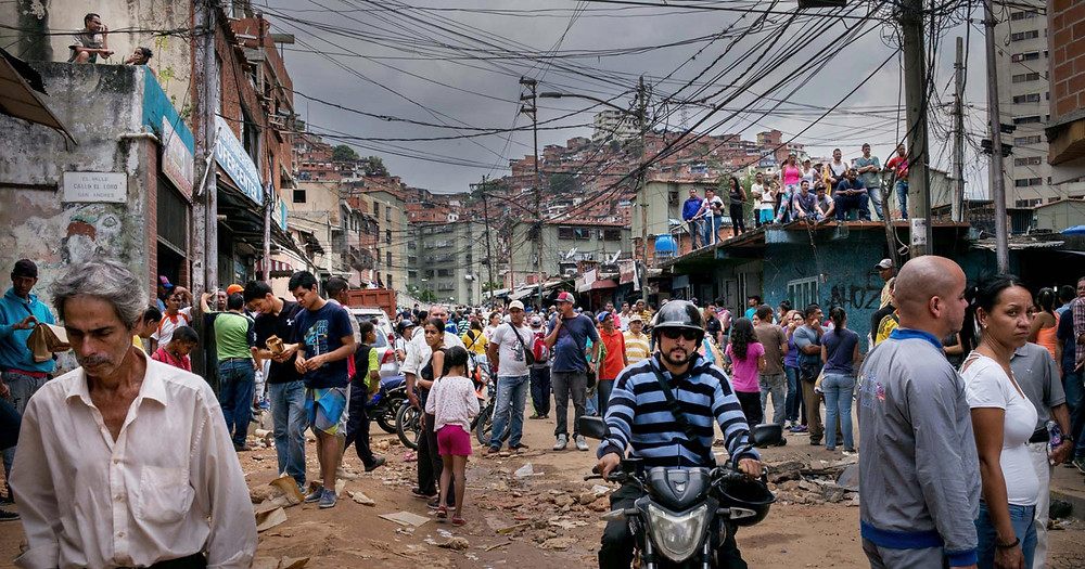 The slums of Caracas, Venezuela. If American Marxists get their way, we can all look forward to this.