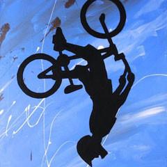 Back Flip Biker