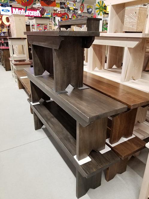Mennonite Harvest Table Bench- 4 Lengths