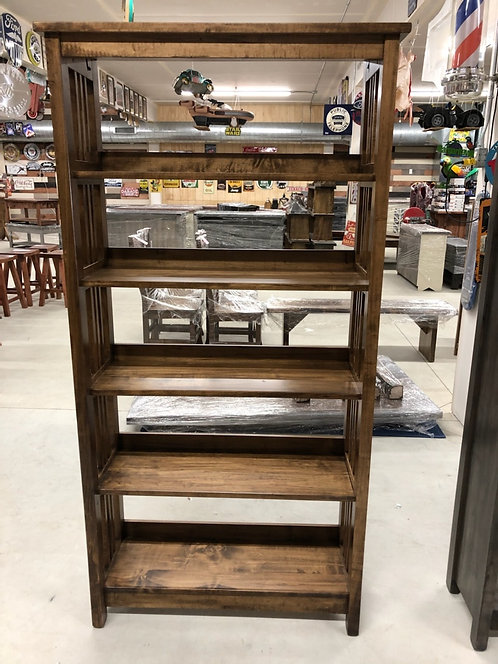Mennonite Mission  and Solid Side Shelves- 3' & 4'