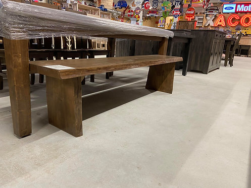 Mennonite Live Edge Maple Bench- 4 Lengths