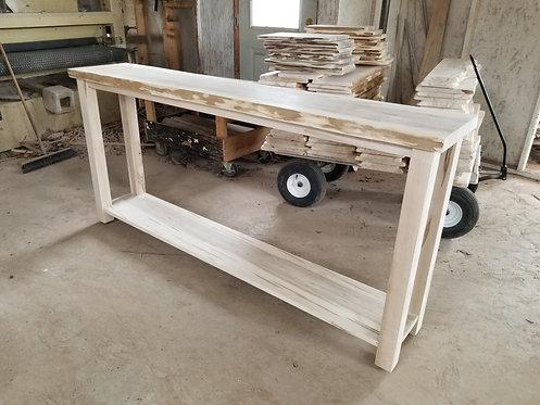 Mennonite Live Edge Sofa Table