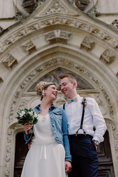 Noeud papillon mariage champêtre