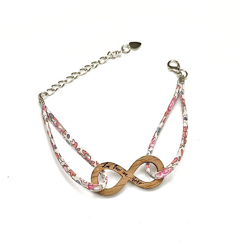 Bracelet Octobre Rose