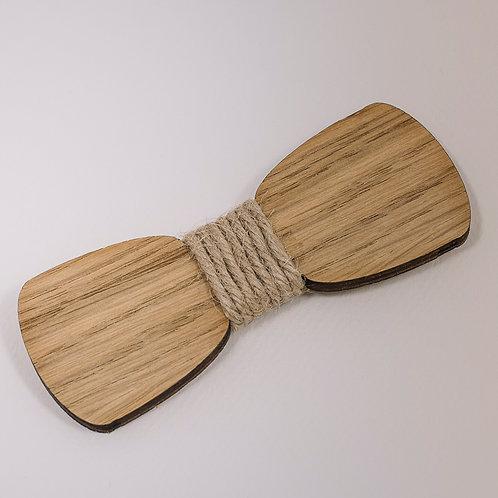 Noeud Papillon original bois et corde