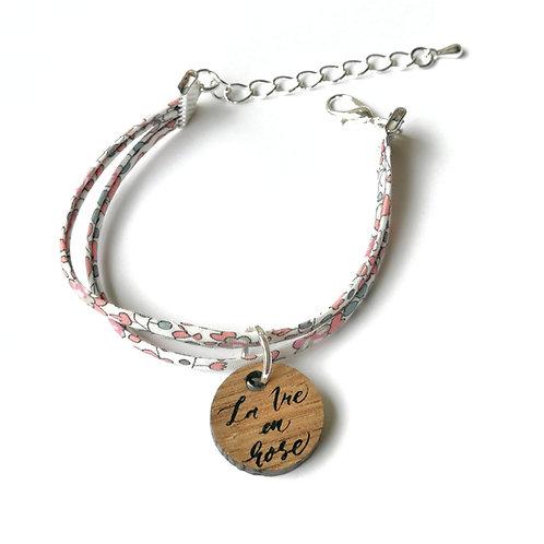 Bracelet Octobre Rose