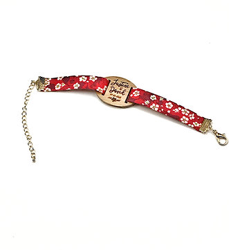 Bracelet temoins de mariage et demoiselles d'honneur personnalisé Prénoms