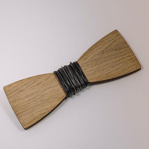 Noeud Papillon original bois et fil de fer