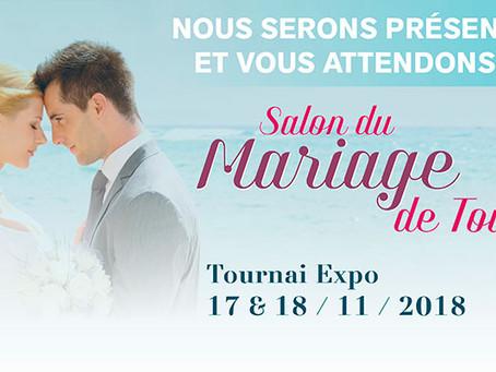 SAC DE NOEUD au salon du mariage de Tournai (B) les 17 et 18 novembre 2018, invitations offertes