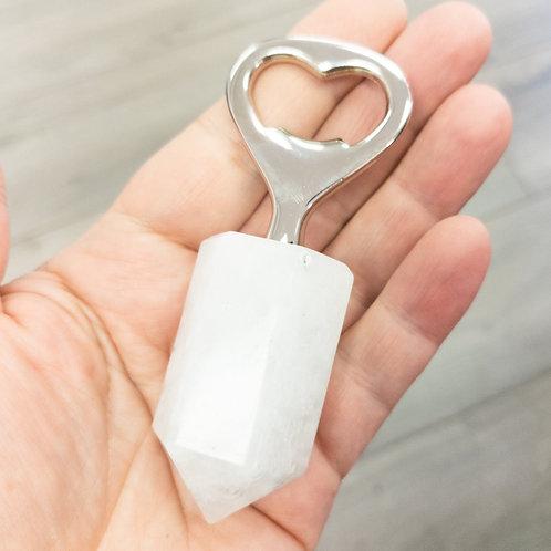 White Quartz Bottle Opener