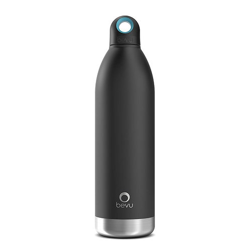 Bevu® DUO Insulated Bottle Black.   750ml / 25oz