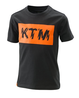 Ktm Kids Radical Logo Tee Black 140/M