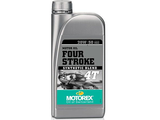 MOTOREX 4-STROKE 4T SAE 20W/50 JASO MA2 1L