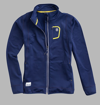 Hqv Girls Basic Logo Zip Jacket