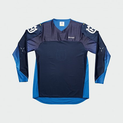 Hqv Railed Shirt Blue L