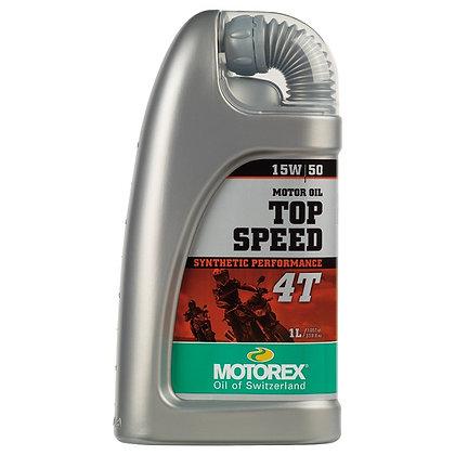 MOTOREX TOP SPEED 4T15W/50 JAS
