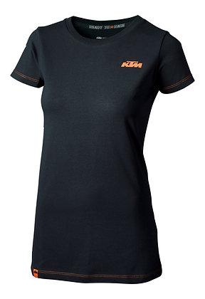 Ktm Girls Racing Tee Black