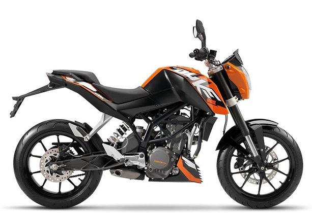 KTM Duke 200 Naranja 2019