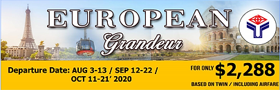 European Grandeur Tour