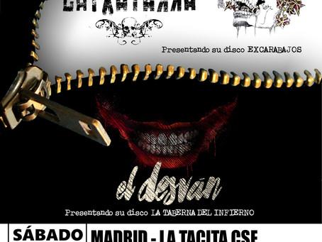Latxatarra y El Desván, juntos en Madrid.