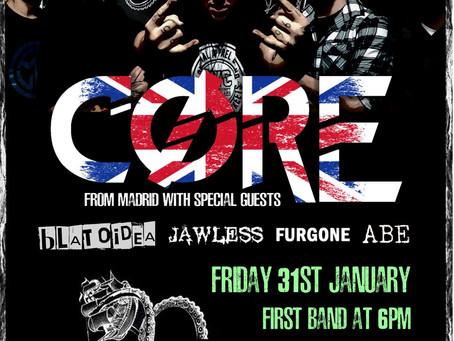 En Enero nos vamos a Londres con Core.