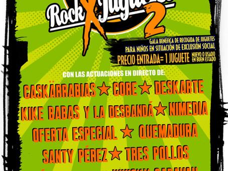 Cartel completo del Rock X Juguetes 2019.