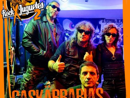 Caskärrabias cierra el cartel del Rock X Juguetes.