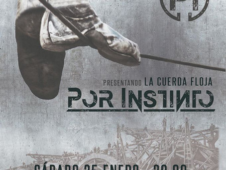 Por Instinto presentarán su disco acústico en Linares.
