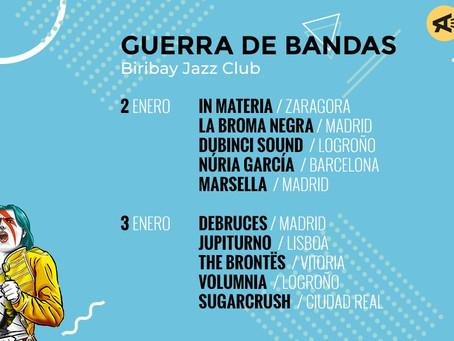 Debruces y La Broma Negra al Actual Festival de Logroño.