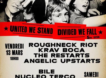 Núcleo Terco en el festival United We Stand de París.