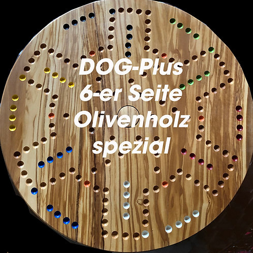 DOG -PLUS Olivenholz 4&6 Spieler