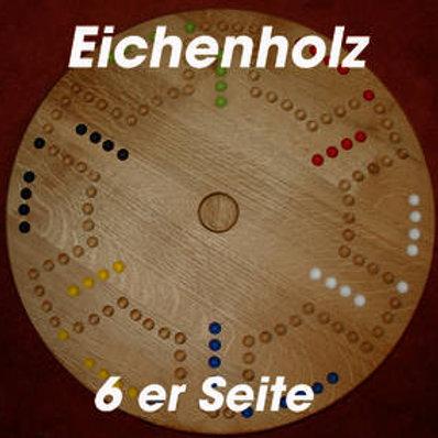 DOG Drehteller 4&6 Spieler Eichenholz