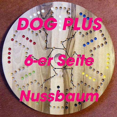 DOG-PLUS 6und 4er Seite Nussbaumholz
