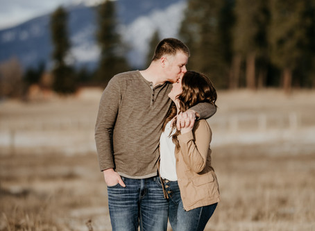 Sky Ridge Ranch Engagement | Montana Wedding Photographer