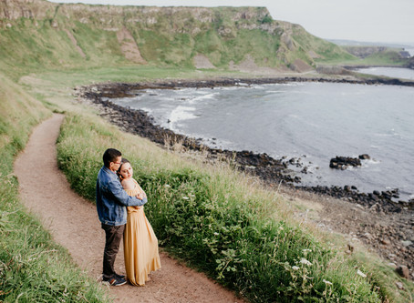 Giant's Causeway Adventure Session   Our Ireland Adventure