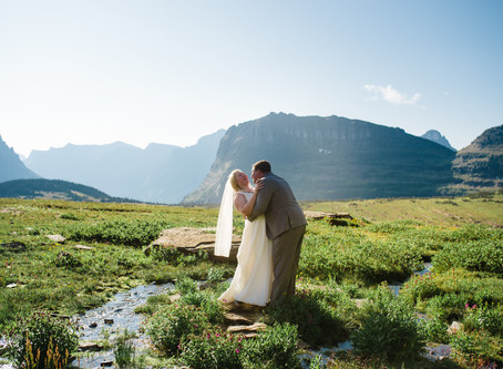 Many Glacier Elopement | Elopement Photographer