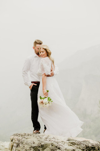 130Blodgett Canyon Overlook Elopement_El