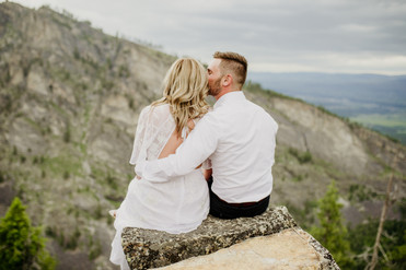 089Blodgett Canyon Overlook Elopement_El