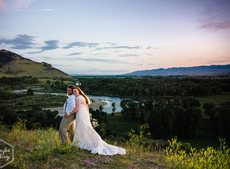 Wedding at Copper K Barn | Montana Wedding Photographer