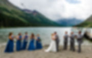 331Glacier National Park Wedding_Lake Jo