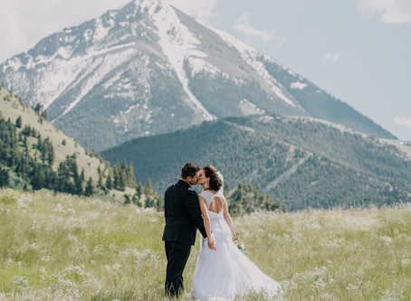 Chico Hot Springs Wedding | Montana Wedding Photographer & Videographer
