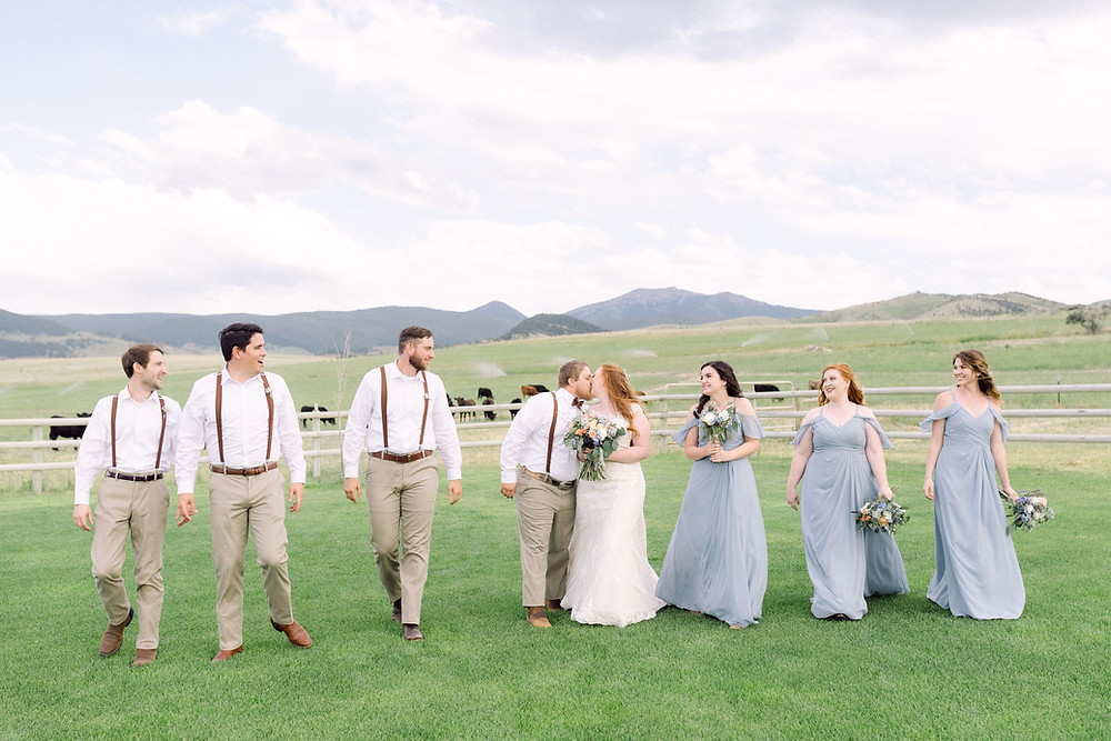Montana Wedding Venues. Butte Wedding Venue. Copper K Ranch.