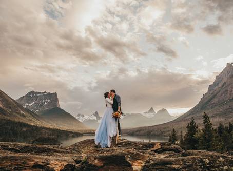 6 Sweet Wedding Traditions to Include in Your Elopement | Glacier National Park Elopement
