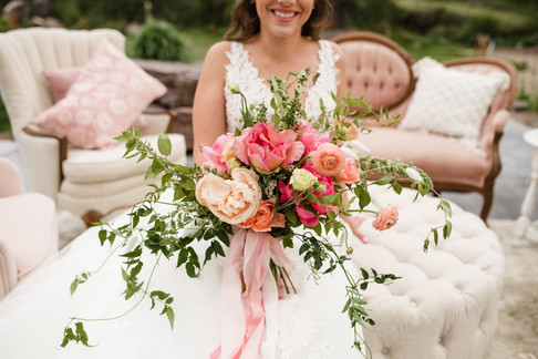 Coral Wedding Inspiration for a Summer Wedding