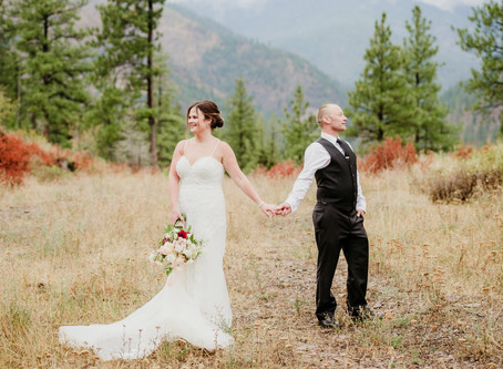 Fall Wedding at White Raven | Montana Wedding Photographer