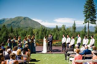 091Glacier National Park Wedding_Glacier Outdoor Center_Honeybee Weddings_Anna & Seth_July