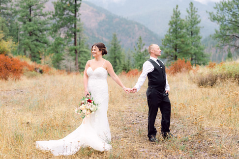Fall Wedding at White Raven