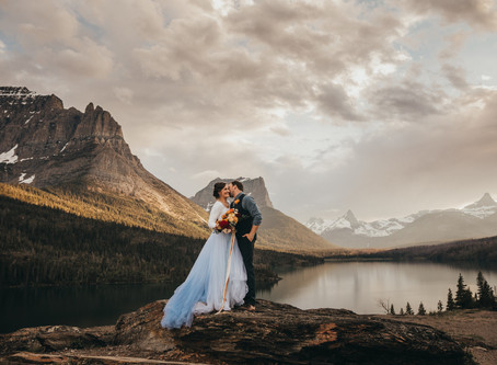 Our Wedding | Dusty Blue Adventure in Glacier National Park